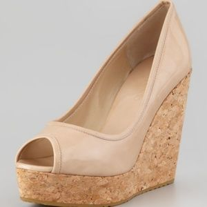 Jimmy Choo papina wedge pump new size 38